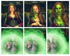 I am green with envy.... Regina looks like Dorothy .___.