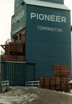 Torrington AB grain elevator
