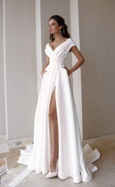 Dream Wedding Dresses, Bridal Dresses, Bridesmaid Dresses, Prom Dresses, Formal Dresses, Civil Wedding Dresses, Pretty Dresses, Beautiful Dresses, Prom Outfits