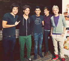 these guys♥ one direction.