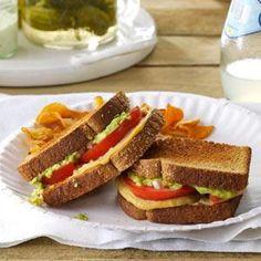Tomato & Avocado Sandwiches *5 Ingredients (Subscriber Exclusive) | Simple & Delicious