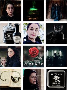 hecate hardbroom is a lesbian and i love her Raquel Cassidy, Three Witches, Learn Magic, Normal Girl, The Worst Witch, Witches Brew, Fantasy Girl, The Last Airbender, Wicca