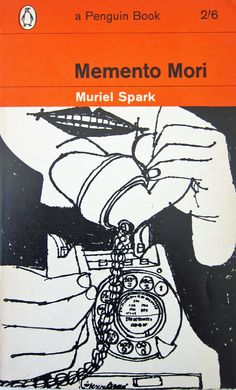 'Memento Mori' by Muriel Spark, cover by Terence Greer. Best Book Covers, Book Cover Art, Book Cover Design, Book Design, Layout Design, Book Writer, Book Nerd, Penguin Publishing, Ben Shahn