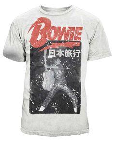 43 ideas t-shirt vintage david bowie Rock T Shirts, Cool Shirts, Rock Tees, Band Shirts, Graphic Shirts, Printed Shirts, T Shirt Time, Bear T Shirt, Concert Tees