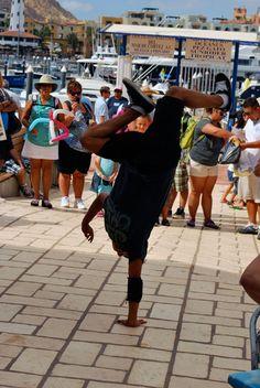 Breakdancer in Cabo San Lucas, Mexico.