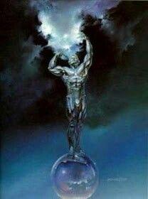 Urano aPersonificaçãodo Céu, um das Divindades Primordiais.  Depois queGaiao-troce áexistência, Urano se tornou o Primeiro Senhor doCosmos...
