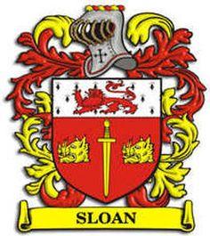 Sloan family crest