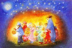 Waldorf Toys - postcards and posters Fete Saint Martin, St Martin, Waldorf Kindergarten, Felt Pictures, Waldorf Toys, Steiner Waldorf, Dutch Painters, How To Start Knitting, Paper Lanterns