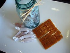 Sea Salted Caramels! Simple recipe that requires just a few ingredients to create this divine treat! #Candy