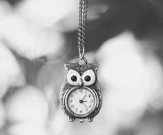 what time is it? Whooo knows! haha