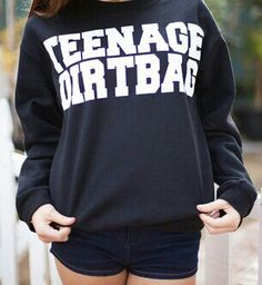 Cause am just a Teenage Dirtbag baby www.fresh-tops.com/