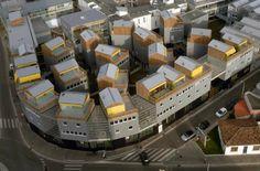 Hondelatte Laporte Architectes Lot 1/2 - Les Diversités, Bordeaux, France City Block, Techno, Townhouse, Opera House, Laporte, Bordeaux France, The Originals, Studio, Thesis