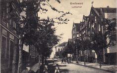 alte Ansichtskarte von Greifswald - Lutherhof   eBay