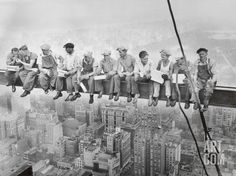 Lunch Atop a Skyscraper, c.1932, by Charles C. Ebbets
