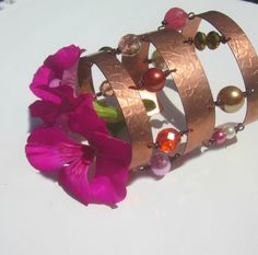 Game of thrones Style Copper Slave Cuff by elementsinspired, $50.00