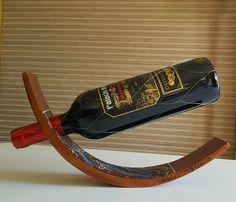 VALDO Australia Handmade Aboriginal Art Pangolin Balancing Wine Bottle Holder in Collectables, Ethnographic, Oceanian/ Australasian | eBay