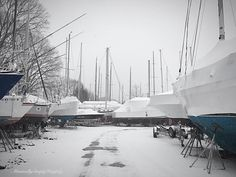 """""""When the blood in your veins returns to the sea and the earth in your bones returns to the ground perhaps then you will remember that this land does not belong to you. It is you who belongs to this land."""" -Native American saying  #liveaboard #sailboat #winter #snow #boatyard #snowstorm #winterized #myview #walk #hike #nature #mothernature #powercouple #relationshipgoals #saltlife #boatlife #boats #tinyhome #tinyhouse #quote #landscape #scenery #travel #wanderlust #restoration #boatwork…"""