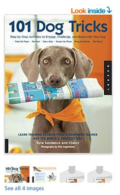 101 Dog Tricks: Step by Step Activities to Engage, Challenge, and Bond with Your Dog Paperback – April 2007 Best Dog Training Books, Dog Training Treats, Dog Training Classes, Dog Training Techniques, Training Your Puppy, Dog Training Tips, Dog Minding, Easiest Dogs To Train, Dog Hacks