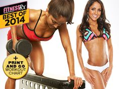 5 -Day Total Body Workout PlanTone & Tighten Your Body From Head to Toe!
