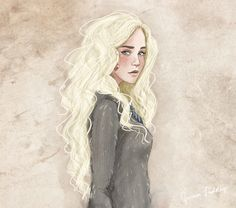 Luna Lovegood by Jenna Paddey Art