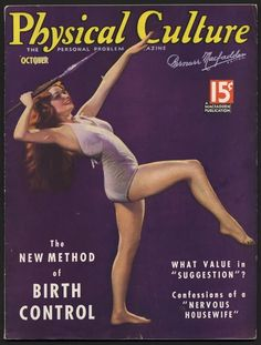 October 1935 Physical Culture Magazine