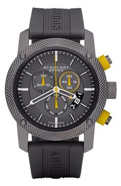 Burberry Sport Chronograph Watch available at #Nordstrom