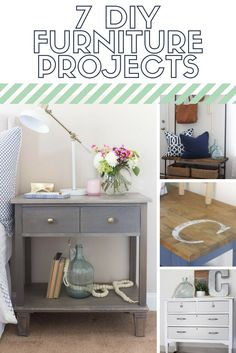 7 DIY furniture projects that anyone can do!