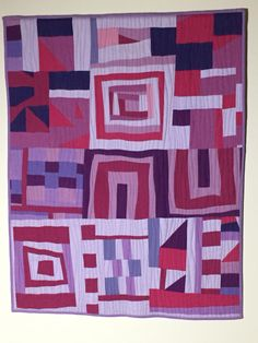 A Few Nights at the Improv Quilt by Diane Holman