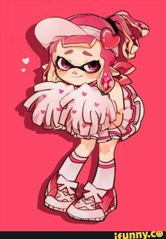 Even if this is based off the anime Shugo Chara, I really want this outfit to be a thing😍😍 Splatoon 2 Art, Splatoon Comics, Illustration Kawaii, Shugo Chara, Art Memes, Video Game Art, Animal Crossing, Fanart, Cute Pictures