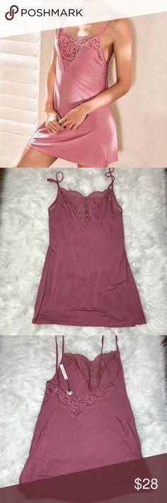 VS Small Slip Unlined, adjustable straps Victoria's Secret Intimates & Sleepwear Chemises & Slips