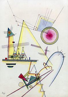 Delicate Soul - By Wassily Kandinsky - 1925