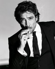 Javier Bardem --most of the time, his movie roles make me tear up... Definitely one of the best actors out there.