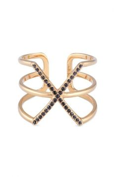 Bold Black Pave Statement Ring | Stella & Dot