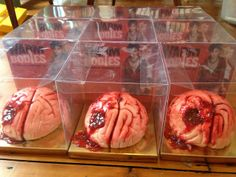 Bleeding Brain cakes