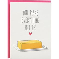 A card to send to the person who makes your life more delicious. | 23 Products For Anyone Who Loves Butter