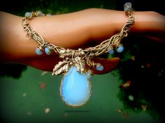 Opalite necklace | Flickr - Photo Sharing!