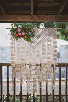 macrame wedding day