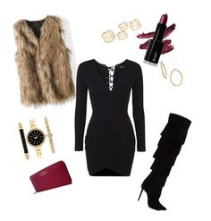 Little Black Dress by nicoleshautediary on Polyvore featuring polyvore, fashion, style, Topshop, Kate Spade, Style & Co., Bony Levy and clothing