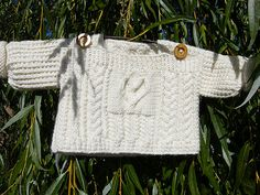 Ravelry: Celtic Child: Cridhe Irish Heartbeat Pullover pattern by Luise O'Neill
