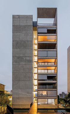 Huma Klabin by Una Arquitetos in São Paulo. Photo © Nelson Kon.