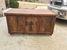 Hope Chest custom made by Southern Charm Woodworks