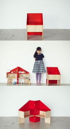 Doll Hause/ Chair By Ichirodesign