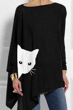 PJ Couture Women/'s Pocket Cat Pink Black Sleeveless Short Pajamas