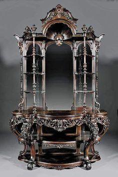 Gothic Victorian Hutch