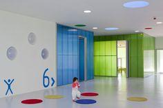 Escuela Infantil Pablo Neruda by Rueda Pizarro, Alcorcón, Madrid, Spain - 2010.