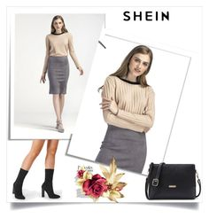 """""""Shein - 2"""" by thefashion007 ❤ liked on Polyvore"""