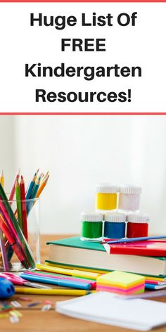 Homeschool Kindergarten for FREE with these free homeschooling resources!
