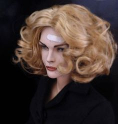 Secretary Selina Kyle (Michelle Pfieiffer) by Sean Dabbs as a personal sculpt for himself.