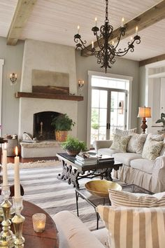 for the love of a house: the barn room dress.for the love of a house: the barn room dressed for summer: details Source by Stucco Fireplace, Brick Fireplace Makeover, Bedroom Fireplace, Fireplace Hearth, Fireplace Design, Stone Fireplaces, Fireplace Ideas, Living Room Inspiration, Great Rooms