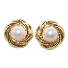 Pearl Earrings Studs Online from Plunder Pearl Dangle Earrings 14k White Gold Earrings, Pearl Stud Earrings, Pearl Studs, Pearl Jewelry, Clip On Earrings, Gold Gold, Antique Earrings, Antique Jewelry, Glamour